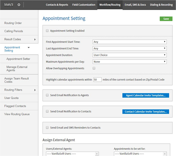 sales engagement solution with appointment setting