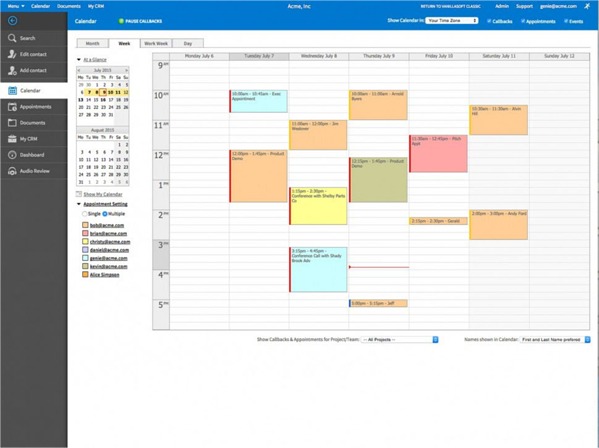 sales engagement platform with scheduling